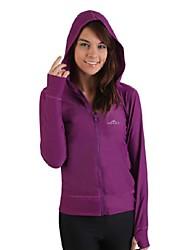Costumi da bagno Tops - Nuoto / Spiaggia - Per donna - Resistenteai raggi UV / Tenere al caldo - Bianco / Nero / Viola