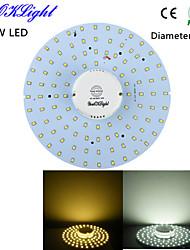 YouOKLight® 20W 1800Lm  100-2835SMD Warm White Light / White Light LED Body Induction Ceiling Light(AC110-120V/220-240V)