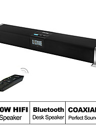 besteye® g809 wireless4.0 bluetooth soundbar luidspreker met ir afgelegen 60w hifi speakers voor smartphone / tv / pc / mp3