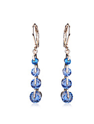 Jewelry Women Wedding Crystal Earrings CZ Diamond For Teen Girls Bridal Party Holiday Fashion Earring Accessories