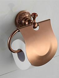 WC-Rollenhalter / Kupfer, antik / WandmontageMessing /Traditionell /16cm 15cm 0.5