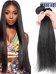 """1 pc / lot 12 """"-30"""" cheveux brésilienne vierge de cheveux humains droite 6a trames de 100% les cheveux remy brésiliens tisse non"""