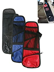 ZIQIAO Car Seat Side Pocket Pouch Tidy Organiser Travel Storage Bag Map Drink Holder