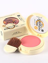 1 Blush Secos Gloss com Purpurina Brilhante Longa Duração Natural Cara