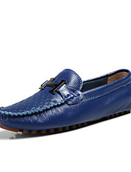 Men's Shoes Casual Loafers Blue / Yellow / White / Orange