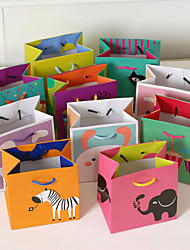 2 Piece/Set Favor Holder-Cubic Card Paper Favor Bags