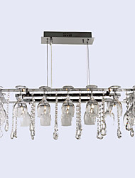 14 Pendant Light ,  Modern/Contemporary / Traditional/Classic Chrome Feature for Crystal Metal Dining Room