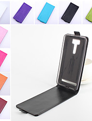 For Asus Case Flip Case Full Body Case Solid Color Hard PU Leather ASUS