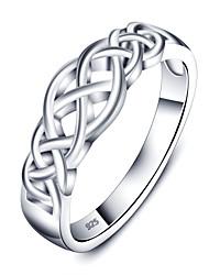 Кольца,Серебро Бижутерия Стерлинговое серебро Массивные кольца