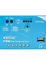 epsolar 20a PWM controlador de carga solar regulador de bateria 12v / 24v com usb
