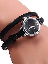 XICOO 487 Long PU Band Women Diamond Quartz Watch Cool Watches Unique Watches