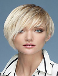 Fashion  Women Lady Blonde Charming Short Bob Syntheic  Wig