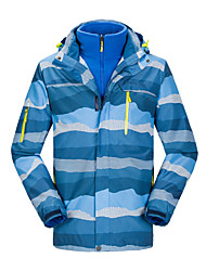 Buiten Dames / Heren / unisex Kleding Bovenlichaam / Jack / Ski/snowboardjassen / 3-in-1 jacks / Fleece jacks / Fleecetruien / Winterjack