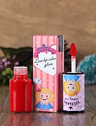 Lipstick Wet Long Lasting / Natural Red / Pink / Orange / Peach