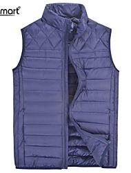 Lesmart Men's Casual Winter Lightweight Warm Sleeveless Outerwear 90% Duck Down Fit Jacket Loose Work Sport Packed Vest