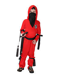 polyester rouge Anime Cosplay Naruto costume d'Halloween pour enfants costume carnaval de naruto partie dressfor carnaval