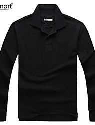 Lesmart Hombre Escote Chino Manga Larga Sudadera con capucha y de la camiseta Negro / Blanco / Morado - MDT1132