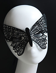 Gothic Style Black Lace Mask Butterfly for Wedding Party