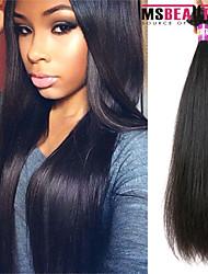 """1 pc / lot 12 """"-30"""" 7a des brasilianischen reinen Haares gerade Menschenhaareinschlagfäden 100% unverarbeitetes brasilianisches remy Haar"""