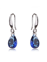 Wedding Jewelry Earrings For Teen Girls Gold Plated Women Crystal CZ Diamond Bridal Holiday Earring Accessories