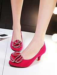 Women's Shoes Kitten Heel Pointed Toe Pumps Shoes More Colors available