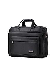 Formal / Casual / Oficina y Trabajo - Bolso de Hombro / Tote / Portafolios / Bolsa de Portátil / Cross Body Bag - Tejido Oxford - Negro -