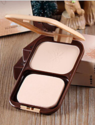 New LIDEAL® Pressed Powder Cake 2 In 1 Makeup Base/Dry Loose Powder 1Pc