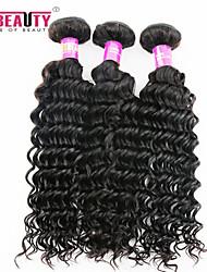 "3 unidades / lote 8 ""-30"" cabelo onda profunda indiano pacotes virgens 7a tecer cabelo humano"