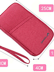 Travel Travel Wallet / Passport Holder & ID Holder Travel Storage Waterproof / Portable / Multi-function Fabric
