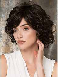 Capless Black Short High Quality Natural Curly Hair Synthetic Wig
