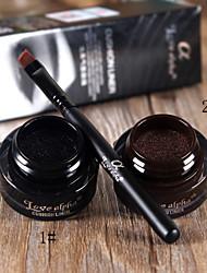 Love Alpha® Waterproof Liquid Eyeliner  Fast Dry Black/Brown Eyes 1Pc
