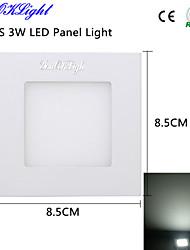 3W Осветительная панель 15 SMD 2835 300 lm Холодный белый Декоративная AC 220-240 / AC 110-130 V 1 шт.