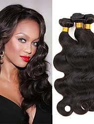 Extension per capelli, capelli veri, ciocche a onde, 3 pezzi (lunghezza disponibile: 20-76 cm)
