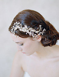 2016 Golden Blossom And Crystal Spray Comb - Wedding / Special Occasion Headpiece