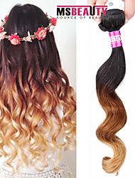"""1 pc / lot 16 """"-24"""" 7a 3t brasilianisches reines Haar lose Welle Menschenhaareinschlagfäden 100% unverarbeitetes brasilianisches remy Haar"""