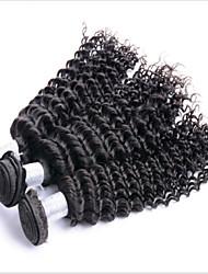 Malaysian Deep Wave Human Hair 4pcs Protea Hair Products Malaysian Hair Weave Bundles Malaysian Curly Hair No Tangle