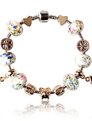 perlas pulsera negro para San Valentín y el regalo de Navidad