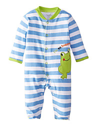 1-18M Newborn Baby Clothing Cotton Fabric Spring Autumn Infant Baby Rompers Toddler Jumpsuit