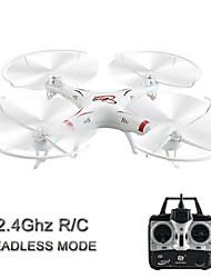 HuanQi Modell 1 4-Kanal 6-Achse 2,4 g weiße Drohnen (nicht enthalten App und Kamera)