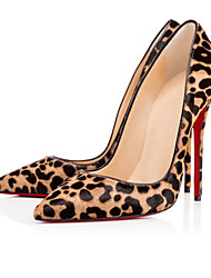 2017 new Womens Shoes Sexy Leopard high heel stiletto shoes.