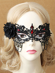 Retro Angel Princess Half Face Dance Mask