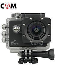 SJCAM X1000 Sports Action Camera 12MP 4032 x 3024 WiFi / LCD / Waterproof / Anti-Shock / Wide Angle 4x 2 CMOS 32 GB H.264 30 M Universal