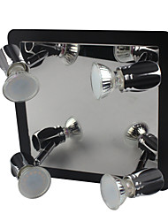 LED Modern Black Wall Lights/Bathroom Lights With 4 Lights 12W (AC100-240V)