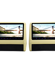 "Hot sale 9""Clip-on Headrest Monitor with DVD"