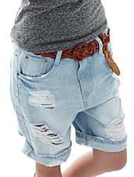 Sagetech® Women's Holes Denim Short Pants