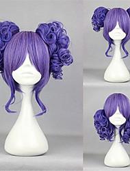 Gosurori / Amaloli 35CM Corto Morado Claro Lolita peluca
