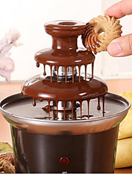 Fabulous Chocolate Fountain Machine 3-Tier Fondue Self-restraint Heated Household