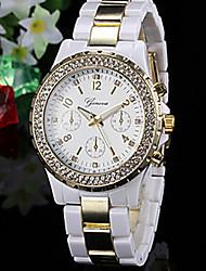 женская мода часы стразами золотой циферблат часы праздничный подарок идеи