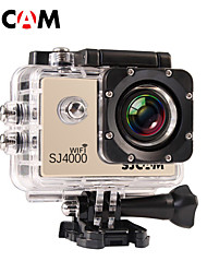 SJCAM SJ4000 WIFI Sports Camera/Gopro Style Camera 1.5 12MP / 8MP / 2MP / 3MP / 5MP 1920 x 1080 4x ±2EV CMOS 32 GB H.264Danish / French /