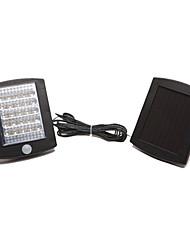 36 lâmpada de led solar para iluminação do trajeto jardim com sensor de luz movimento ativado